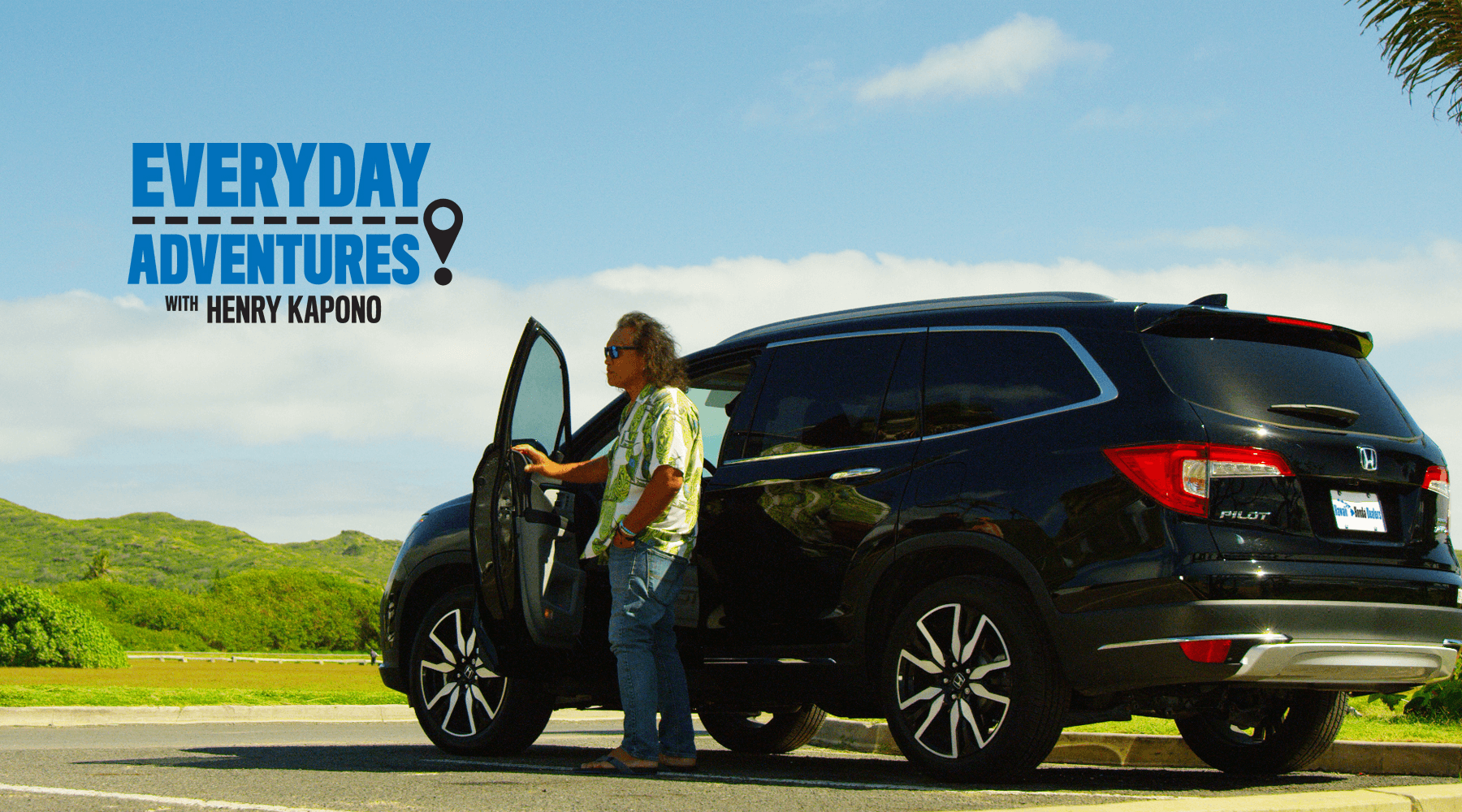 Hawaii Honda Dealers Everyday Adventures with Henry Kapono Slider