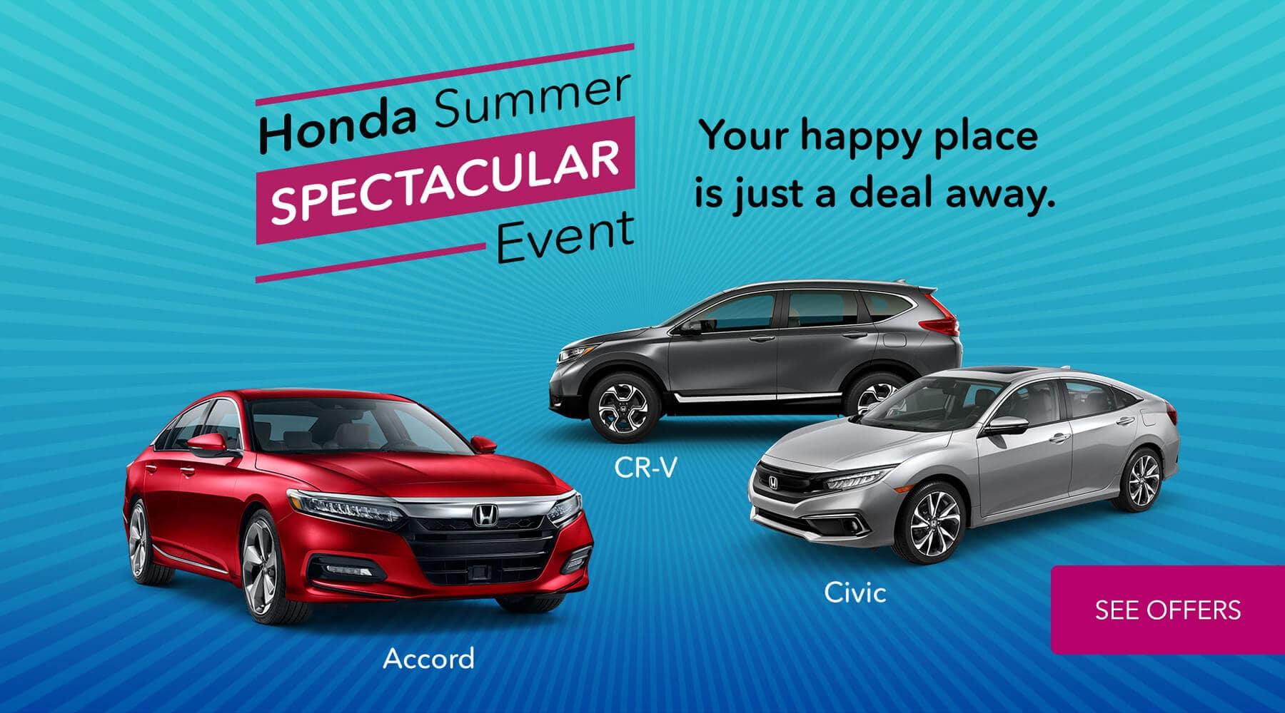 2019 Honda Summer Spectacular Event HP Slide