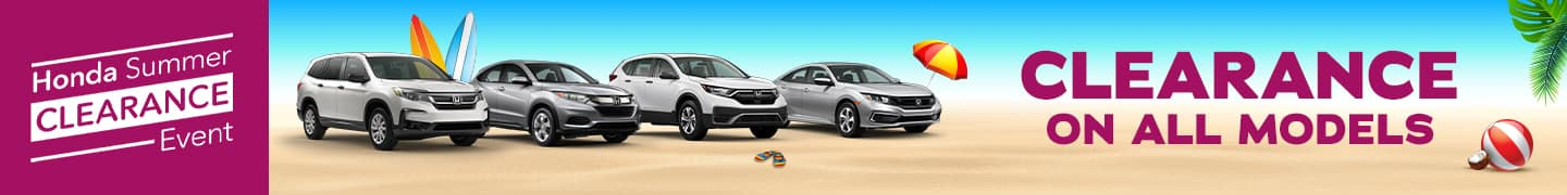 Honda Presidents Day Sales Event