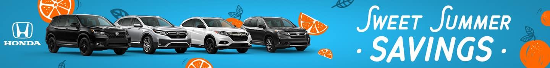 Sweet Summer Savings at Honda