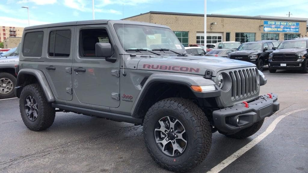 jeep wrangler unlimited rubicon 2019