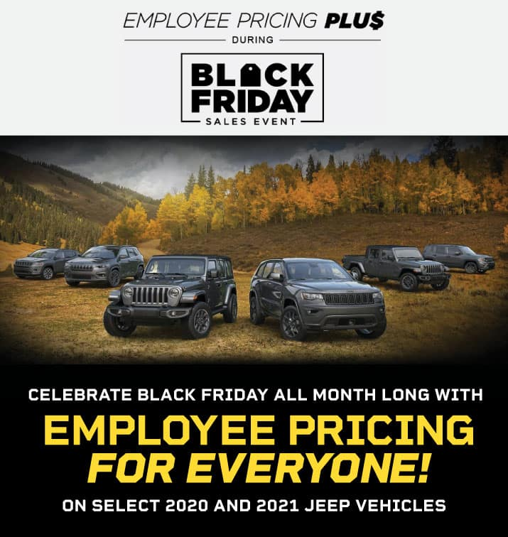EMPLOYEE PRICING FOR EVERYONE