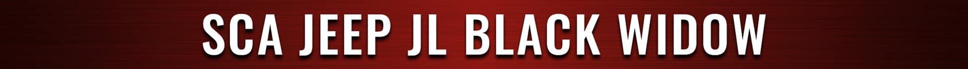 SCA JEEP JL Black Widow Banner