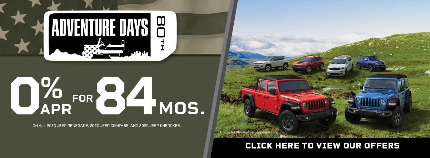 Jeep, 0% APR