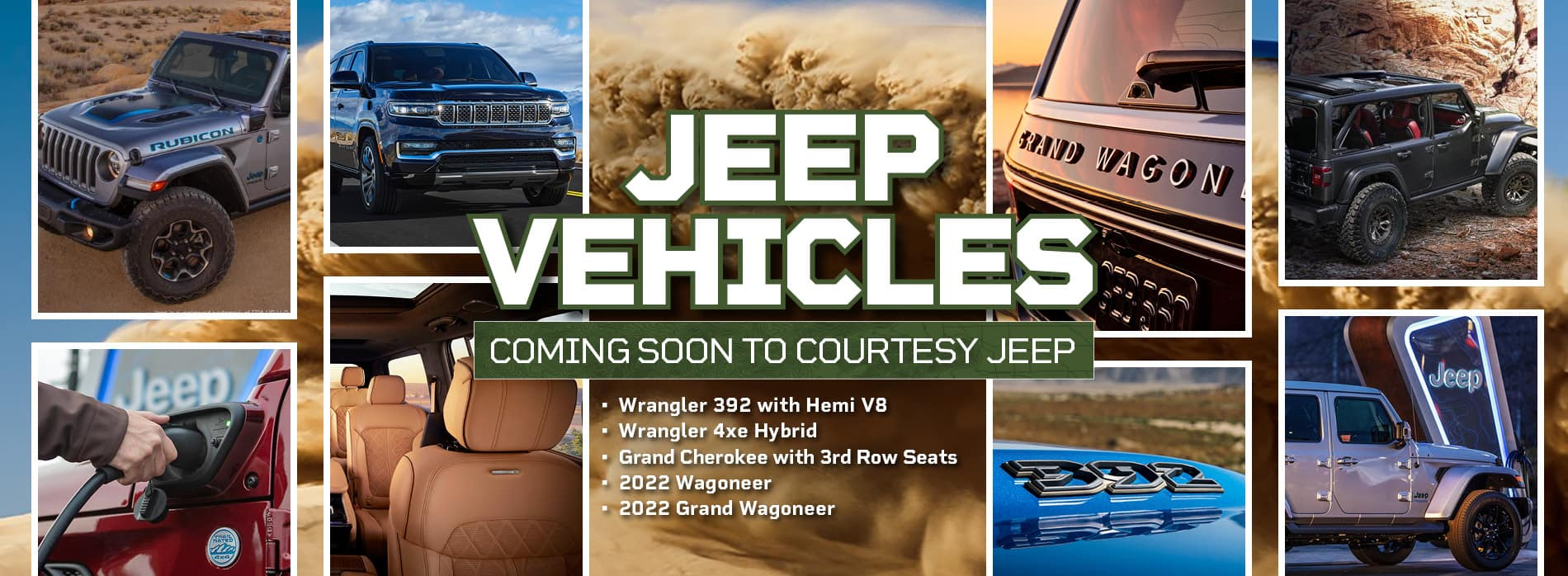 Jeeps Coming to Courtesy Jeep
