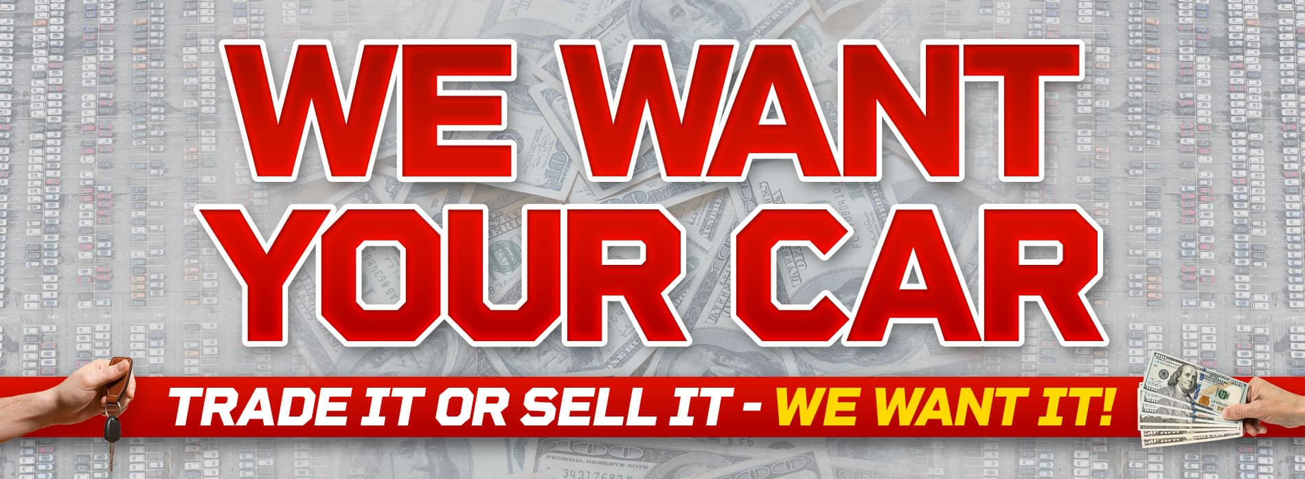 We want your car at Courtesy Jeep
