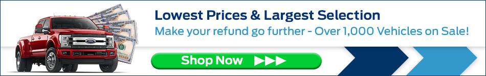 Tax refund banner