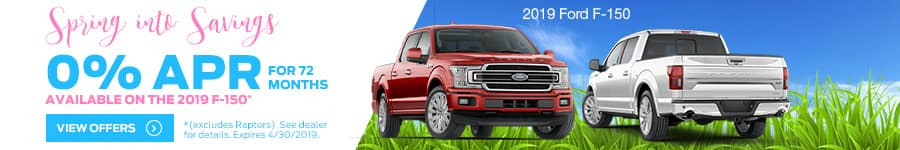 0% for 72 on 2019 F-150