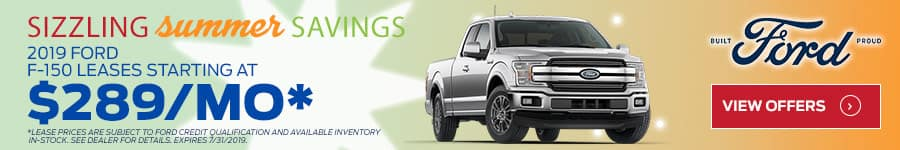 F-150 Sizzling Summer Savings