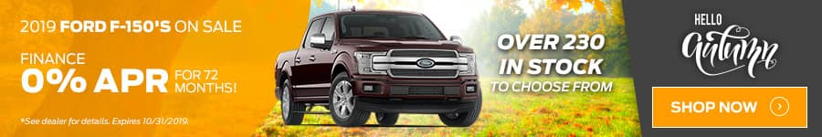 2019 F-150 Special Offer