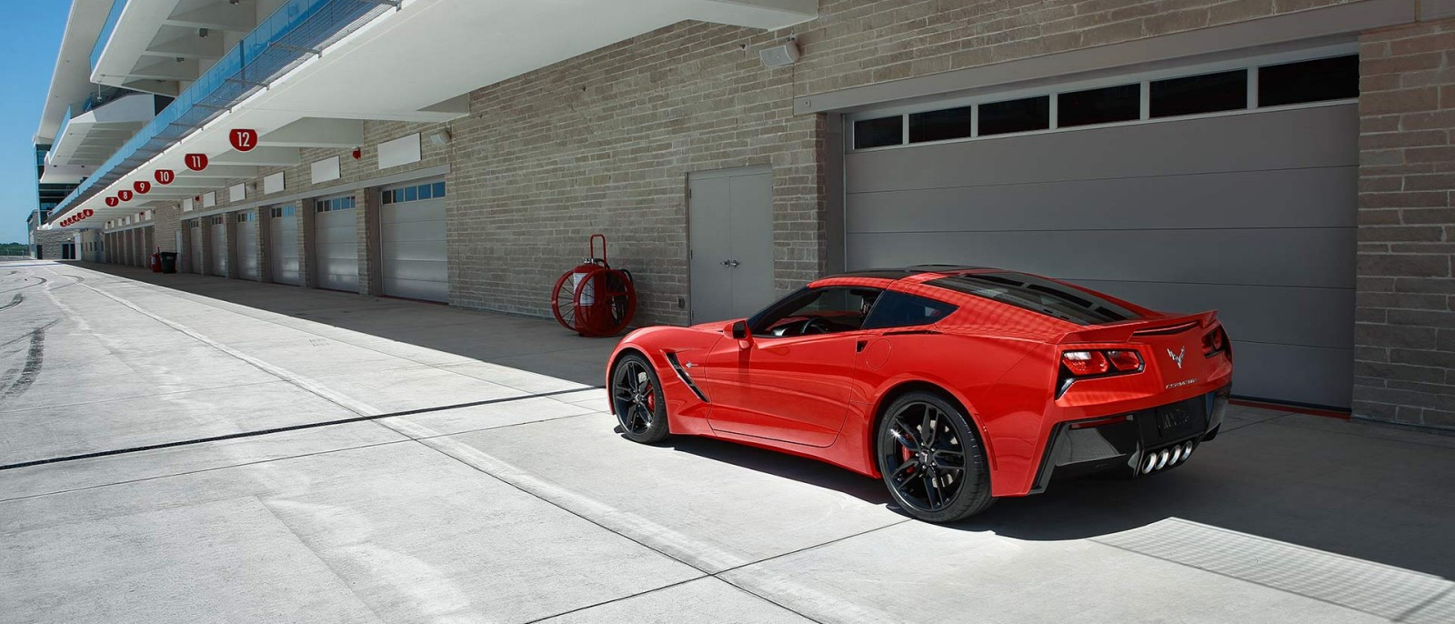 2017 Corvette Stingray red
