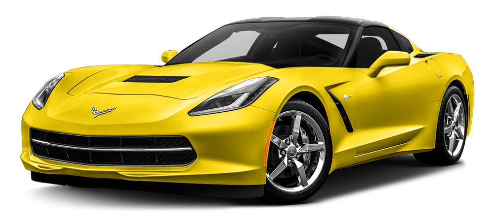 2017 Corvette Stingray yellow