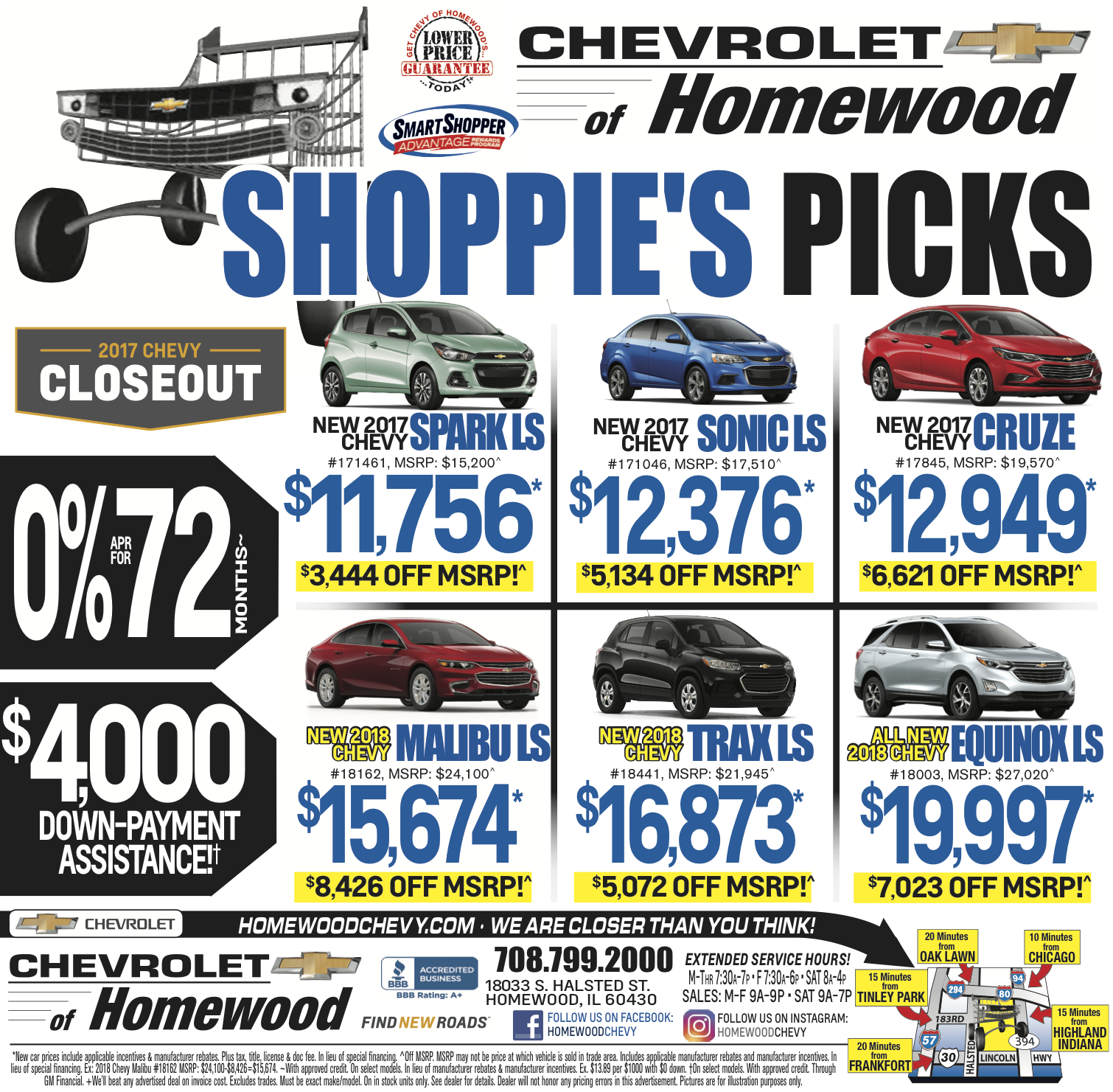 homewood chevy weekly ad