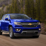 2017 Chevy Colorado Blue