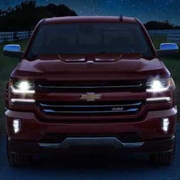 2018 Chevy Silverado 1500 Front Headlights