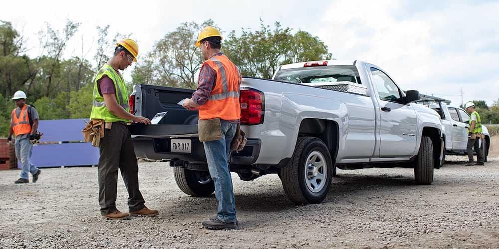 2018 Chevy Silverado 1500 Cargo Load