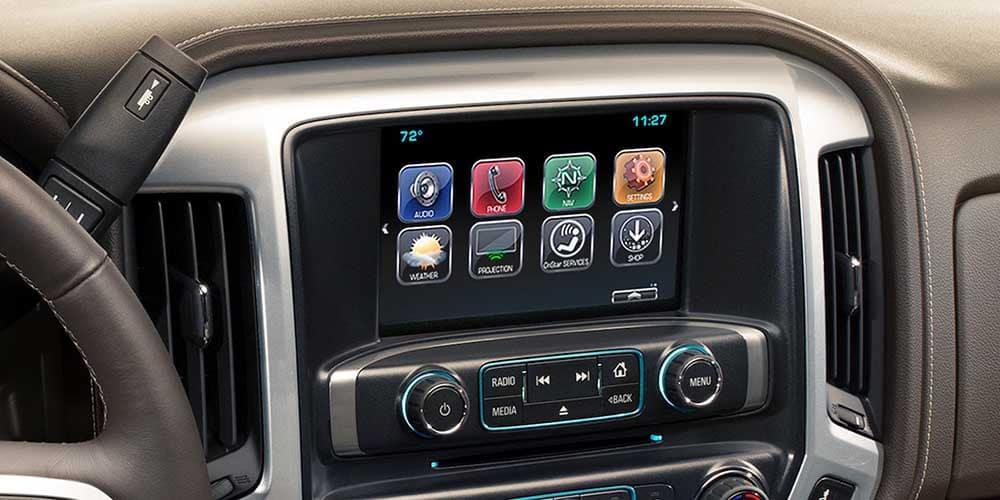 2018 Chevy Silverado 1500 Infotainment