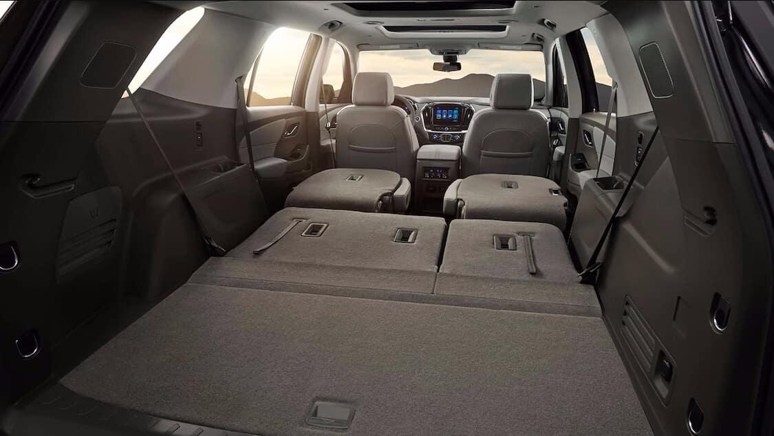 2018 Chevrolet Traverse Cargo Space