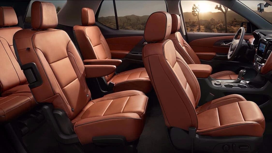 2018 Chevrolet Traverse Seating
