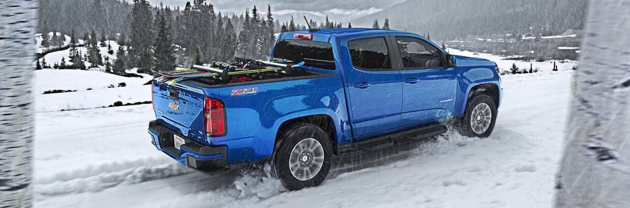 2018 Chevrolet Colorado in Snow