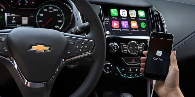 2018 Chevrolet Cruze Apple CarPlay
