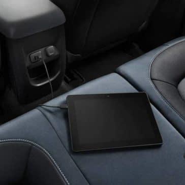 2018 Chevrolet Colorado Backseat