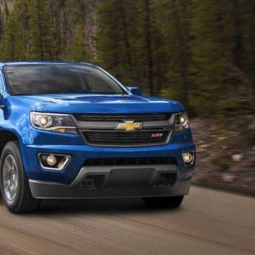 2018 Chevrolet Colorado Blue Front