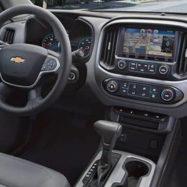 2018 Chevrolet Colorado Dash
