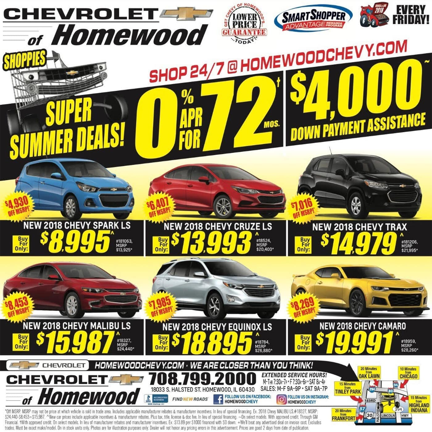 weekly ad chicagoland chevrolet of homewood