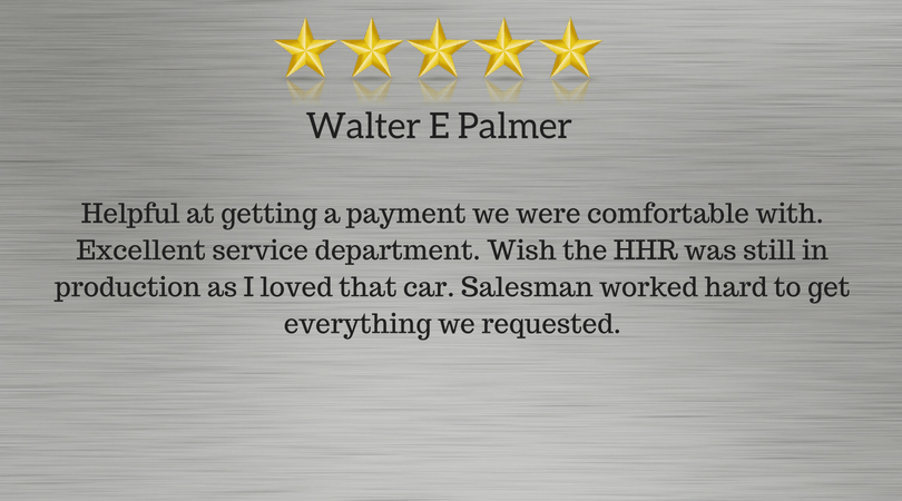 Walter P Review of Chevy of Homewood