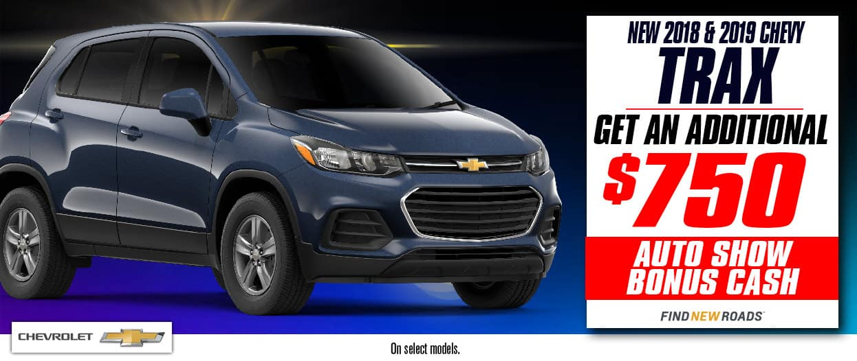 Chevrolet of Homewood 2018 and 2019 Chevy Trax