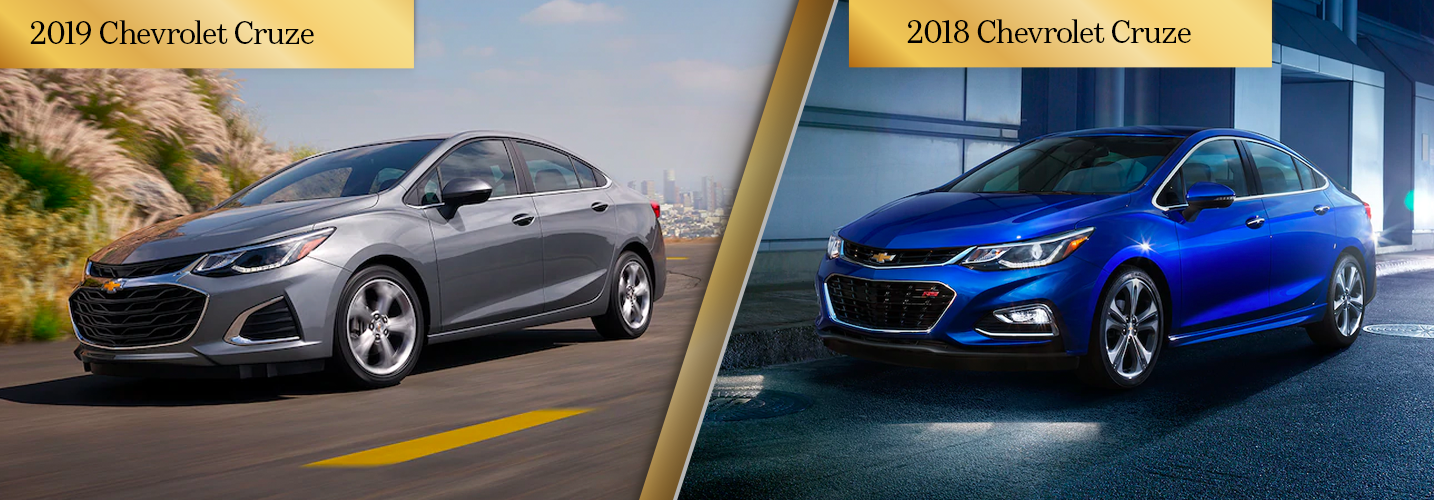 2019 Chevrolet Cruze Vs 2018 Chevrolet Cruze Chicago Il