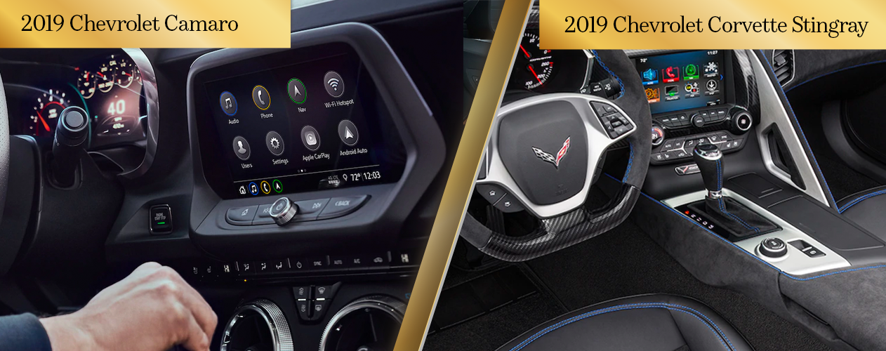 2019 Chevy Camaro vs. 2019 Chevy Corvette Stingray Engine Performance and Efficiency Chicago IL