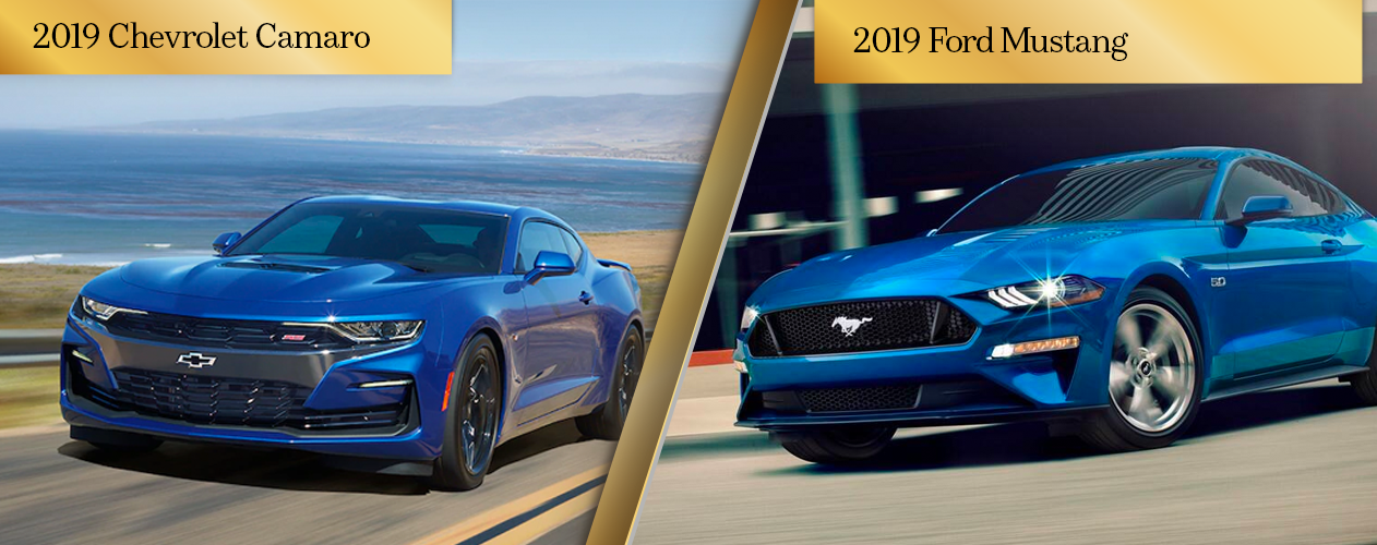 2019 Chevy Camaro vs 2019 Ford Mustang Chicago IL