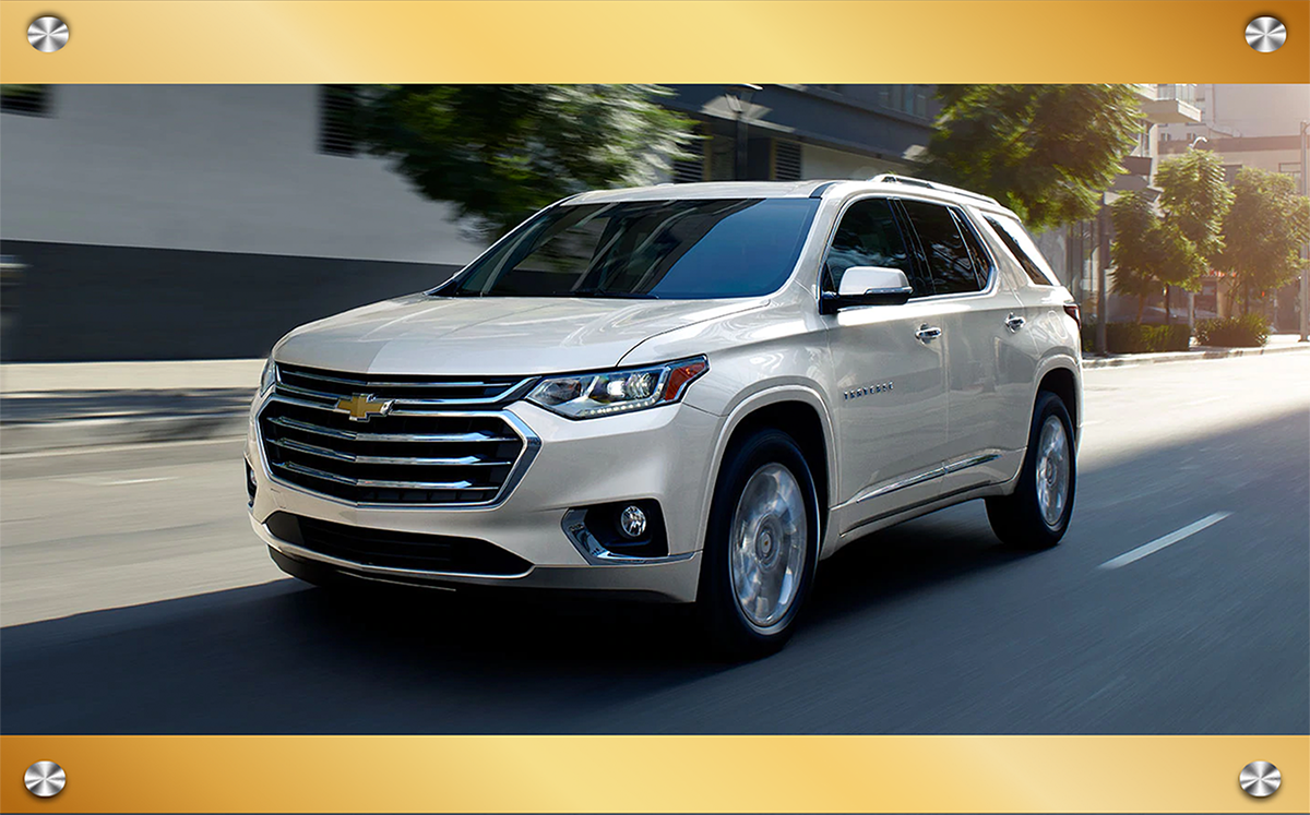 Find Your Perfect Chevy SUV!