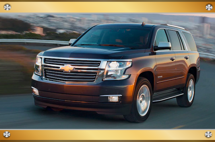 Test Drive the 2020 Chevrolet Tahoe