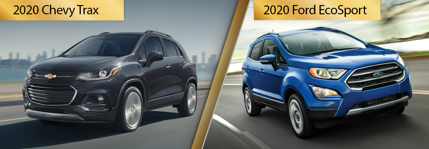 2020 Chevy Trax vs 2020 Ford EcoSport