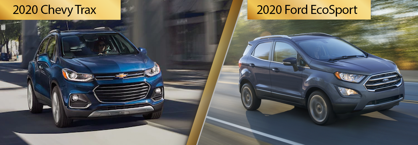 Contrast 2020 Chevrolet Trax vs 2020 Ford EcoSport