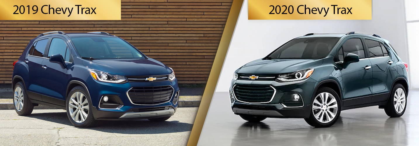 2019 Chevy Trax vs 2020 Chevy Trax Comparisons