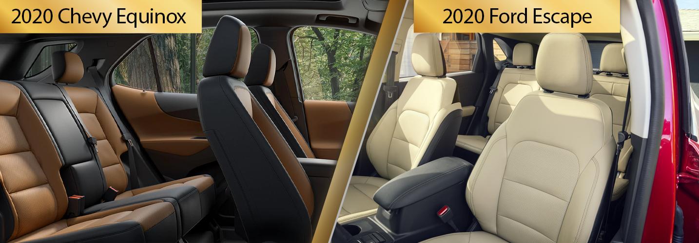 2020 Equinox vs 2020 Escape Safety