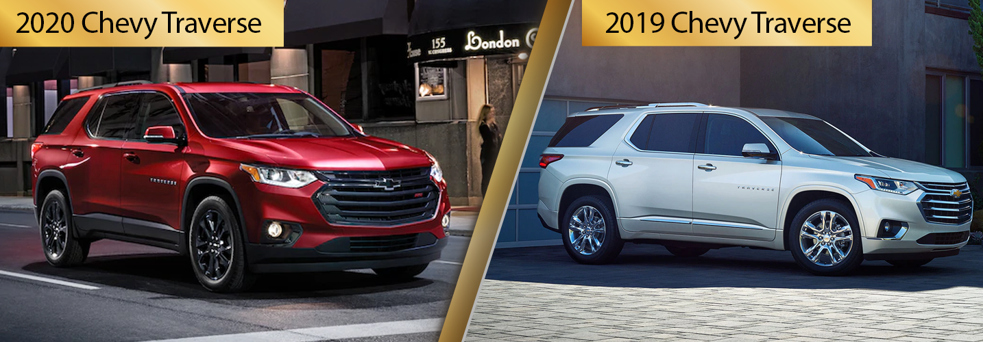 2020 Chevy Traverse vs 2019 Traverse Comparisons