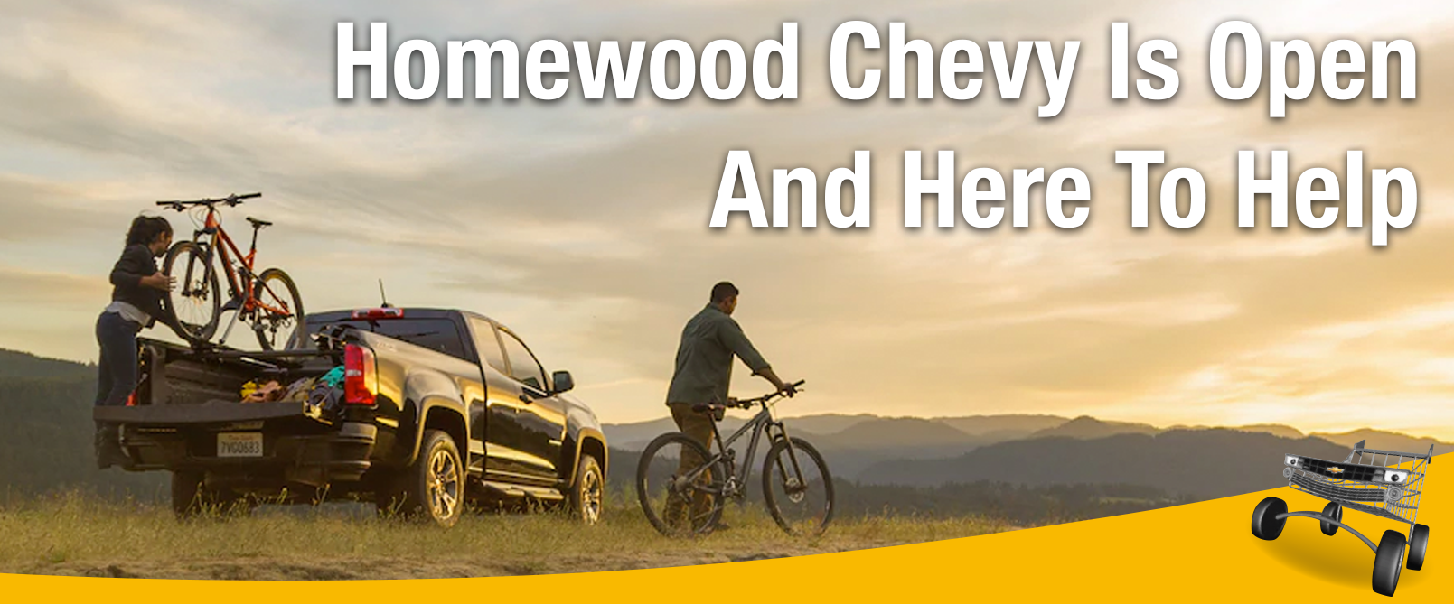 Homewood Chevy Cares - We're Open and Here to Help