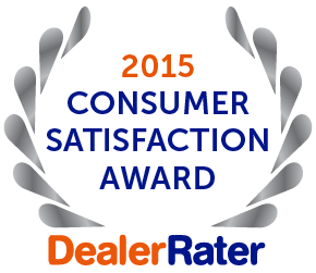2015 Dealer Rater Customer Satisfaction Award