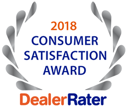 2017 Dealer Rater Customer Satisfaction Award