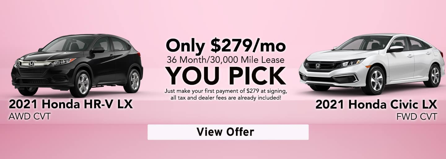 May 2021 You pick Lease