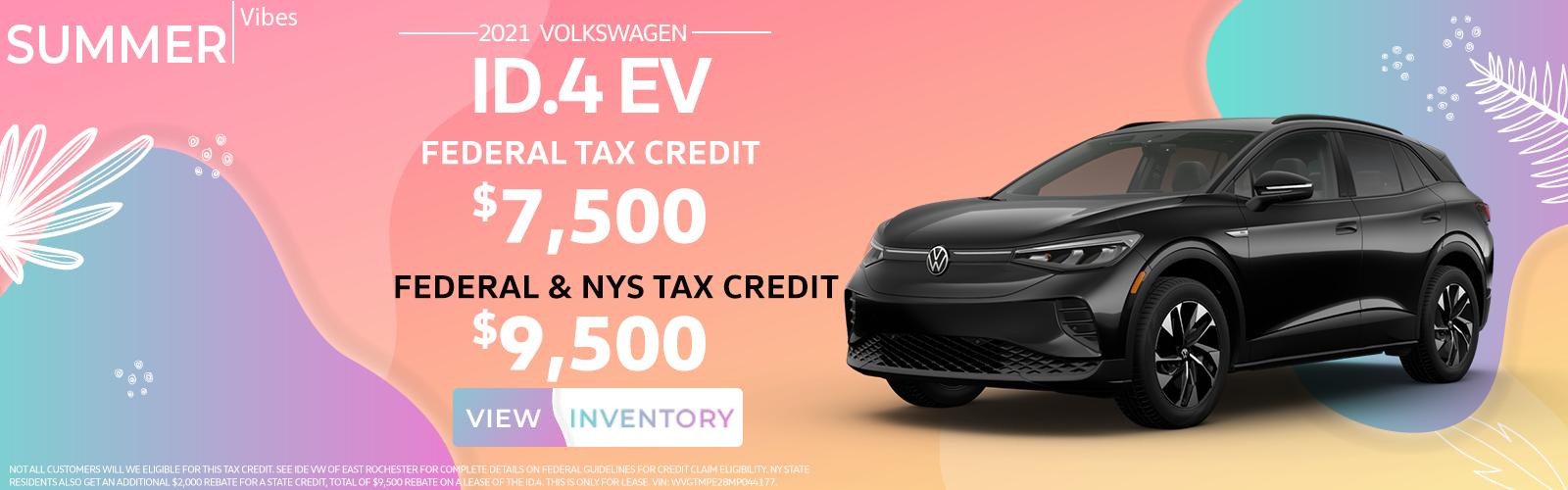 ID.4 Tax Credit w NY rebate 7.22