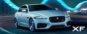 Jaguar XF Model Exterior Banner