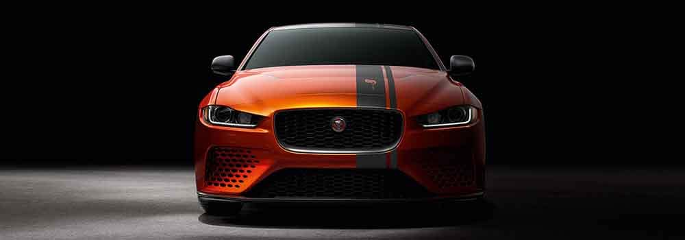 Jaguar XE SV Project 8 Front End View
