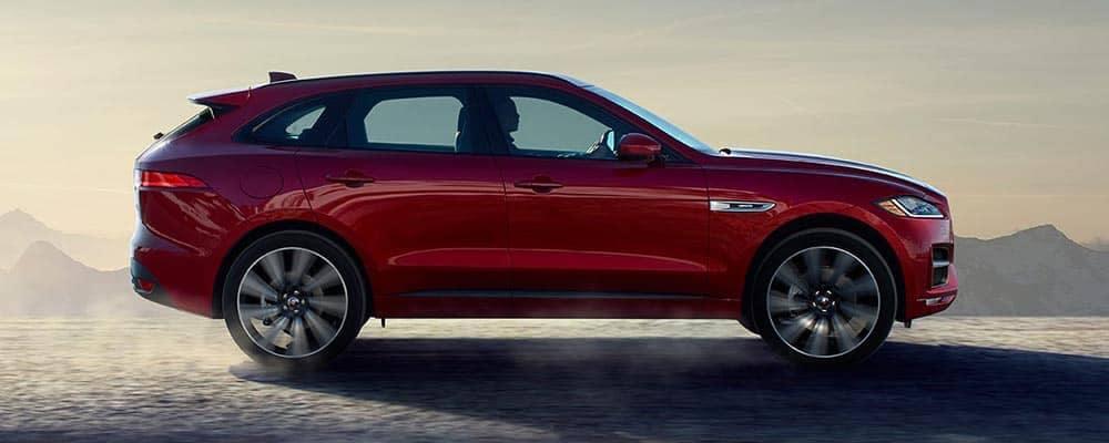 2018 Jaguar F-PACE Driving