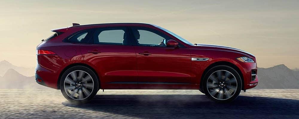 2018 Jaguar F-PACE Side Profile